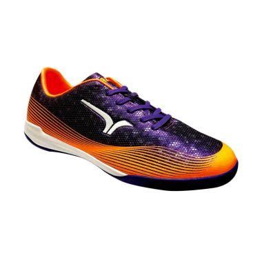 Sepatu Bola Calci jual calci conquest sepatu futsal purple orange harga kualitas terjamin blibli