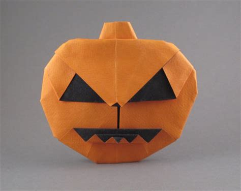 printable origami pumpkin instructions halloween origami for kids paper pumpkin tutorial make