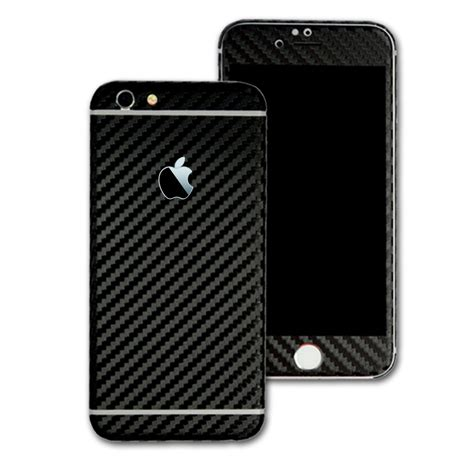 Screen Protector 3d Clear Carbon Fiber Iphone 55g5sback Skin iphone 6 black carbon fibre skin wrap easyskinz