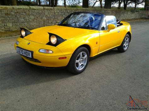 yellow for sale mazda eunos mx5 1994 limited edition 1 8 automatic in