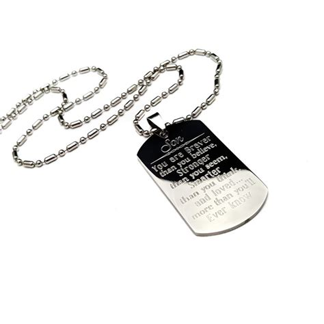 Tag Necklace tag necklace uniqjewelrydesigns