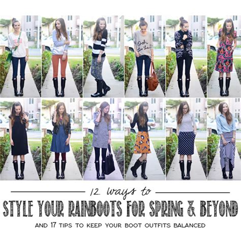 Style Ideas How To Wear Those Black Second City Style Fashion by 12 Ways To Style Your Boots For And Beyond