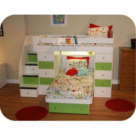 L Shaped Bunk Beds With Storage Berg Space Saver L Shaped Bunk Bed With Stairs And Storage