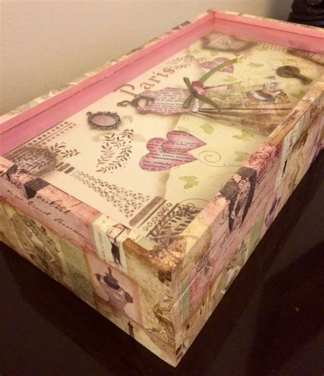 Decoupage Furniture With Scrapbook Paper - 17 best images about decoupage on shabby chic