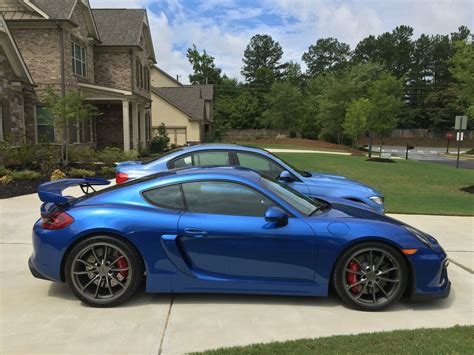 Porsche Cayman Seats 4 by Selling His New Porsche Cayman Gt4 Because It Has