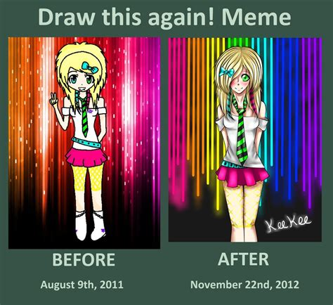 Huehuehue Meme - i did the draw this again meme huehuehue by kaniii on