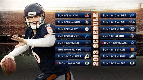 chicago bears team history schedule news photos stats chicago sports teams scores stats news standings