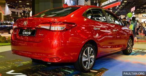 Cermin Vios toyota vios generasi baharu di singapore motor show 2018