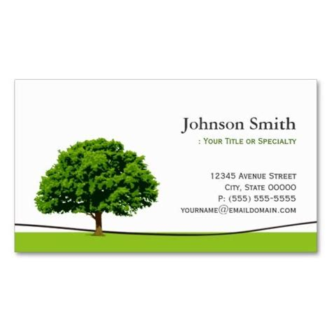 tree card template 137 best images about landscaping business cards on