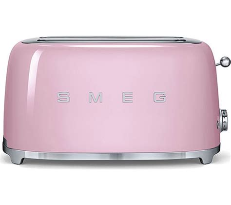 4 Slice Toaster Reviews Uk Buy Smeg Tsf02pkuk 4 Slice Toaster Pink Free Delivery