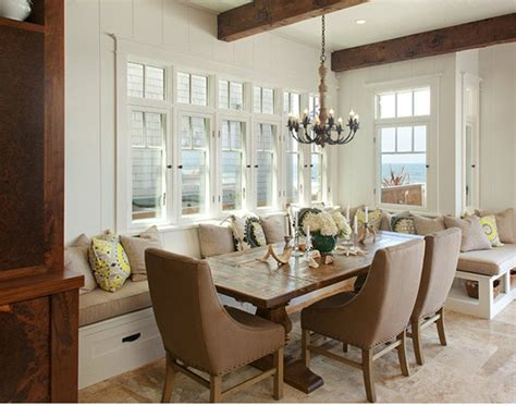 Beachy Dining Room Tables Style Dining Room Designs