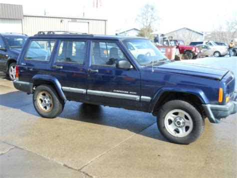 2000 jeep classic purchase used 2000 jeep cherokee classic sport utility 4