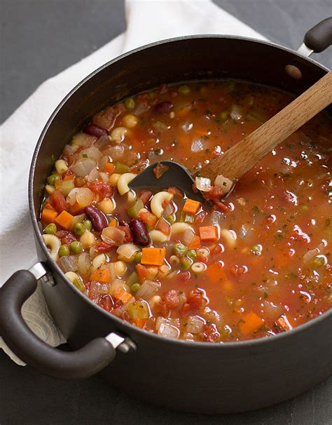 Soups On Minestrone Soup by Simple Satisfying Minestrone Soup Silverman Hough