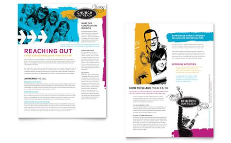 Creative Church Bulletins & Christian Newsletters
