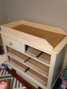 Convert Dresser To Changing Table 1000 Ideas About Changing Table Dresser On Pinterest Nurseries White Changing Table And Baby
