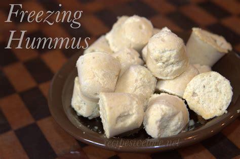 freezing hummus recipes we love