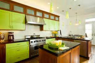 Colorful Kitchen Cabinets by Colorful Kitchen Design Ideas