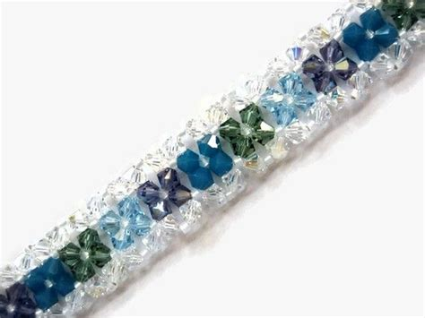 right angle bead weave swarovski bracelet seed bead right angle weave