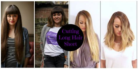 before and after long to short hair hair transformations before after cutting long hair