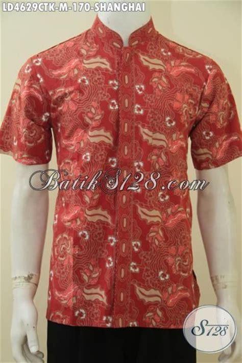 A0683 Kemeja Koko Batik Prada jual baju shanghai newhairstylesformen2014