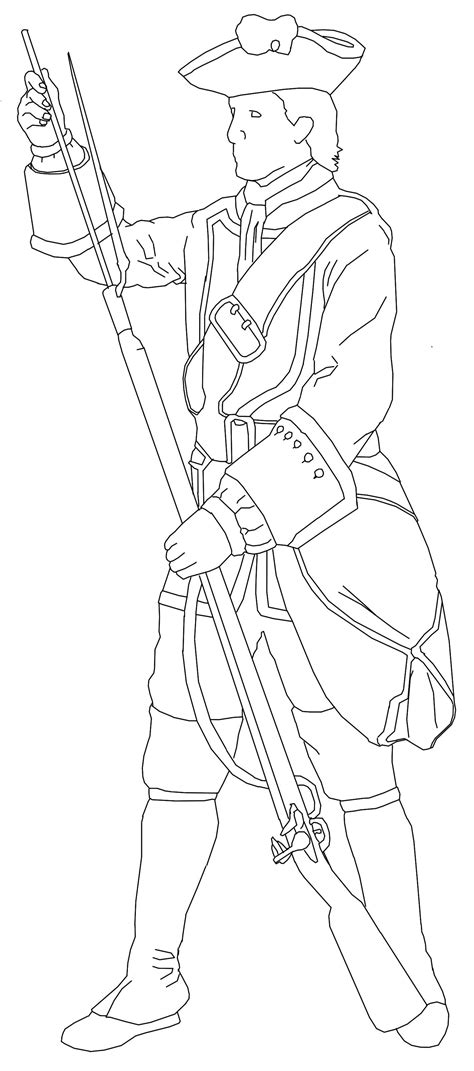 Soldier Drawing Outline by Andrewkellett94 Designer Historian