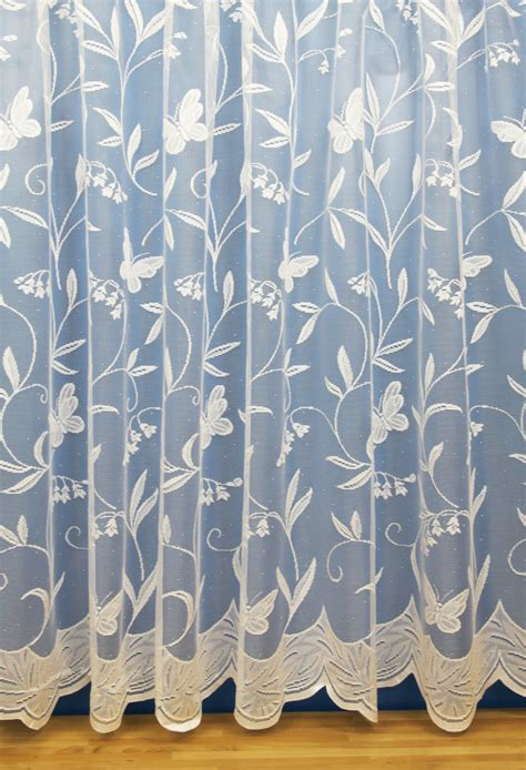 Butterfly white net curtains woodyatt curtains