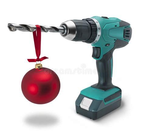 drill christmas gift tool tools stock image image 24067327