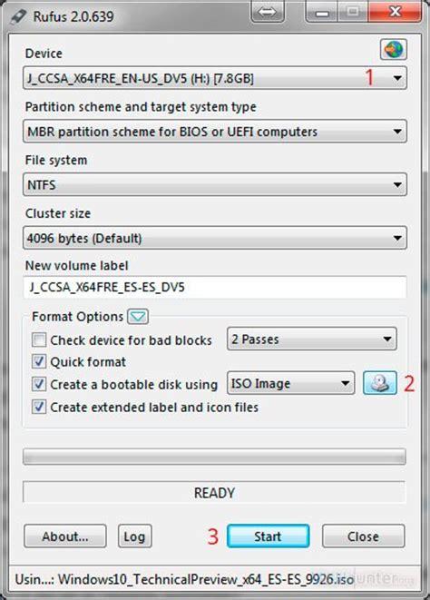 grabar imagenes iso windows 10 como grabar windows 10 en usb e instalarlo vichaunter org