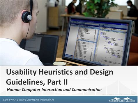 design guidelines nielsen usability heuristics and design guidelines human computer