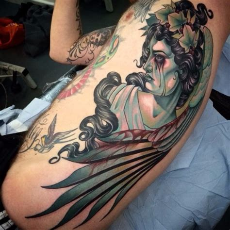 tattoo angel eyes bloody eyes angel body tattoo best tattoo ideas gallery