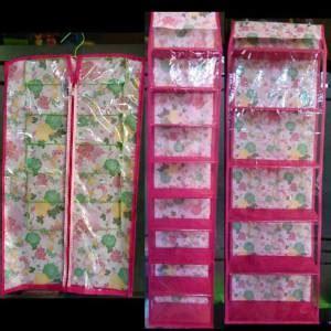 Rak Tas Sepatu Jilbab jual paket organizer hanger jilbab gantungan tas rak
