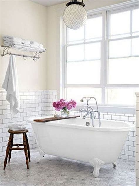 White Marble Subway Tile Bathroom by Subway Tile Bathrooms For Bathroom You Dreaming Of