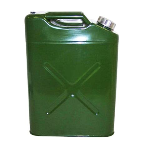 Tank Keq 20 Liter eu 20l liter 5 gallon jerry steel tank fuel can gas fuel tank gasoline green ebay