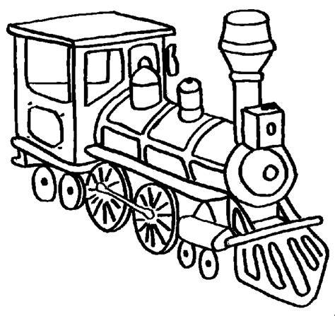 trains coloring pages