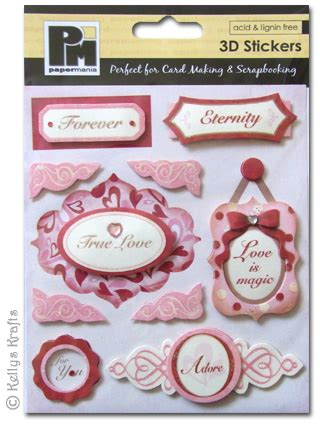 3d stickers for card coloured 3d stickers memories 1 sheet 163 1 19