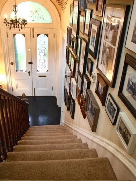 Decorating Ideas For Staircase Walls 50 Creative Staircase Wall Decorating Ideas Frames