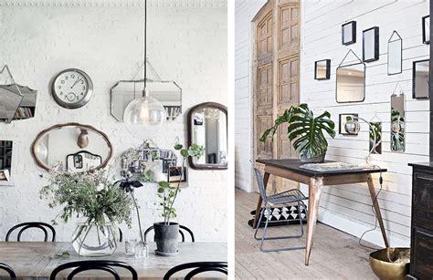 Plusieurs Miroirs Sur Un Mur la fabrique 224 d 233 co reflets et d 233 co le miroir dans la maison