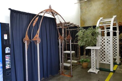 Wedding Arch Rental Vancouver Wa by Arch Rustic Weathered Iron Rentals Portland Or Where To