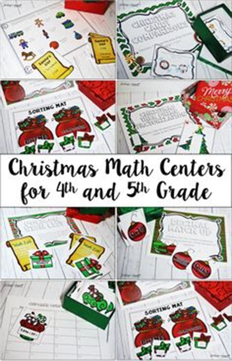 christmas math centers first grade 1000 images about for the classroom on elementary canes and