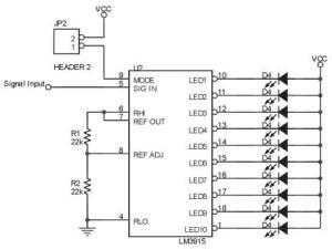 membuat lu led mengikuti irama musik detektor taraf kebisingan suara part 2