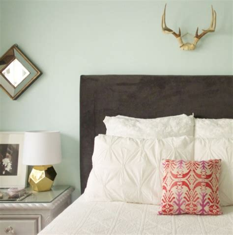 Upholstered Headboards Diy by Diy Upholstered Headboard The Everygirl