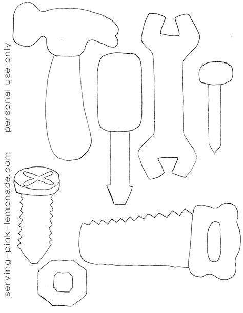 Color Pattern Tool | serving pink lemonade felt tools