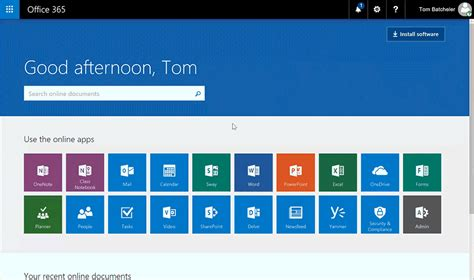 Office 365 Portal Apps Introducing The New Office 365 App Launcher Office Blogs