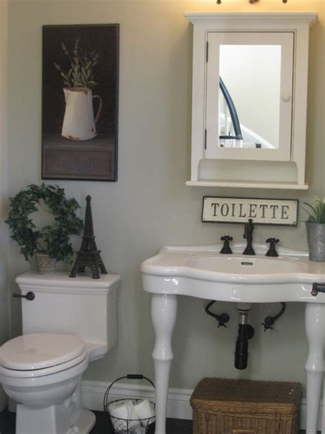 french country bathroom decorating ideas powder room