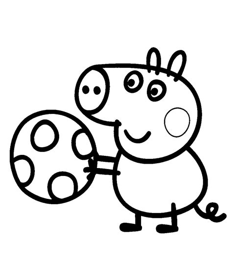 imagenes para colorear a peppa pig peppa pig para colorear pintar e imprimir