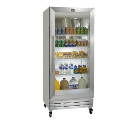 door refrigerator sale kelvinator commercial kcgm180rqy 32 quot wide reach in refrigerator featuring one glass door
