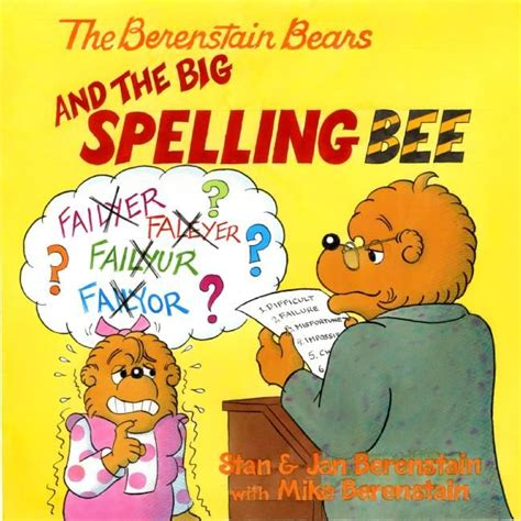 the big free books the berenstain bears and the big spelling bee jan