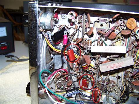 replace electrolytic capacitors viking messenger 1 cb radio rebuild radio boat anchor