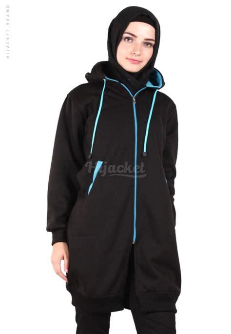 Original Hijacket Urbanashion Black Jaket jaket hijaber basic black turkish hijacket hj15 jaket