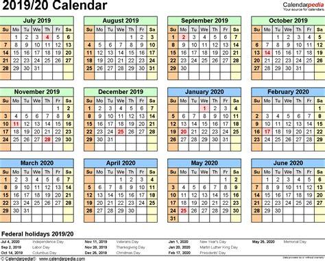 printable school calendar 2015 16 ireland split year calendar 2019 20 printable pdf templates